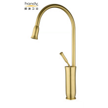 Faucet Dapur Anitique Golden Brush