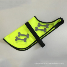 Safety pet collars cute reflective vest for dog or cat with bones