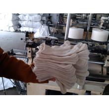 Guantes de algodón blancos Guantes de algodón tejidos a mano