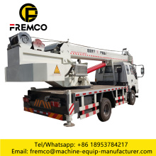 12 Ton Truck Crane Machine Vehicle Loading Cranes