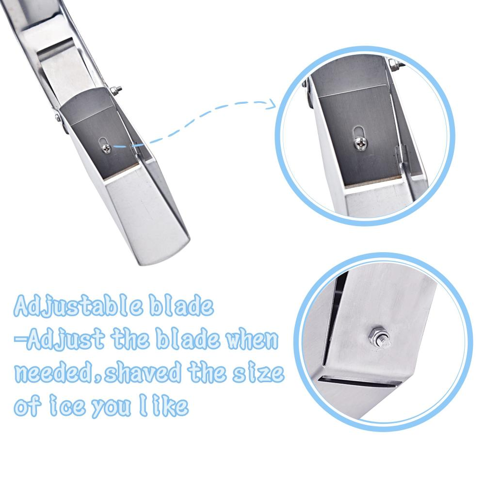 Stainless Steel Ice Shaver