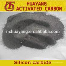 Competitivo precio de polvo de carburo de silicio verde y negro para la venta