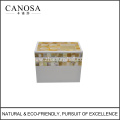 Golden Lip Shell Mosaic Toothbrush Holder for Star Hotels