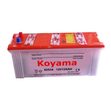 All Kinds of Dry Batteries/ German Standard Battery DIN 62534 (12V 125AH)