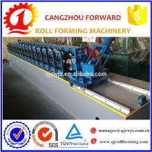 Perfil galvanizado de perfil de pista que forma la máquina
