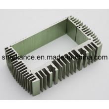 Aluminium / Aluminiumlegierung Extrudierte Industrie Kühlkörper