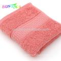 2018 Usage domestique serviette / 100% coton peigné solide couleur hôtel serviettes de bain