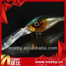NOEBY isca de pesca / olhos 3D isca difícil de pesca