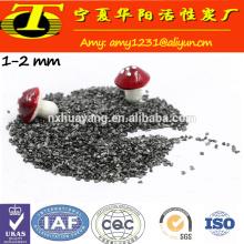1-5 mm de antracita calcinada para fundición de acero y hierro