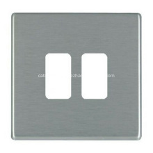 High Quality Custom Metal Stainless Steel Outlet Wall Face Plate