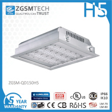 IP66 150 Watt LED Canopy Light for Gas Station Lighting