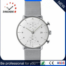 Moda homem relógios relógio de quartzo de aço inoxidável (dc-365)