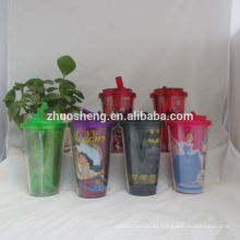 vasos de plástico de alta calidad hermosa personalizado para niños