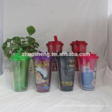 gobelets en plastique de belle qualité personnalisée pour enfants