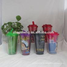 copos de plástico de alta qualidade linda personalizada para crianças