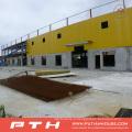 Entrepôt adapté aux besoins du client de structure métallique de grande envergure de conception