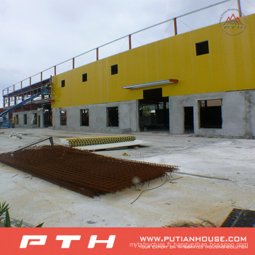 2015 Préfabriqué Customized Warehouse Structure Structure En Acier
