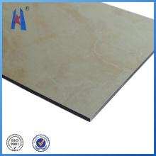 Panel compuesto de aluminio de mármol con precio de fábrica
