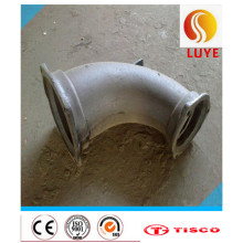 Codo de acero inoxidable de la forja de la fuente de la fabricación