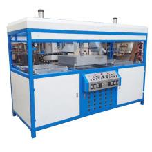 Machine de formage sous vide à double tête semi-automatique