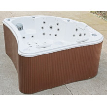 Baignoire de bain acrylique en acrylique de forme charmante (JL980)