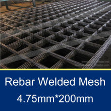 4.75mm reinforcement concrete welded wire mesh panel