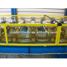 Máquina perfiladora de tejas de acero