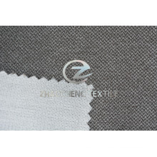 New Arrival Wavy Lines Velvet Bonded with Knitted Fabric for Sofa Use