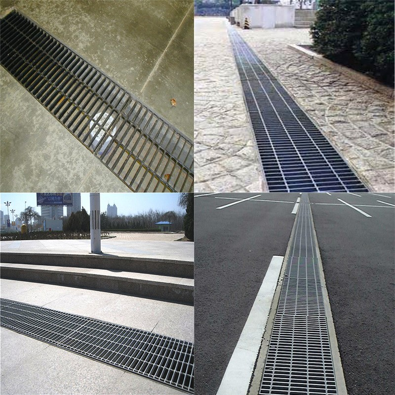 Drainage Channel Galvanized Steel Grating