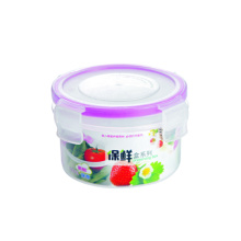 250 ml Plastic Food Container Round Shape