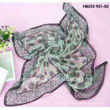 Мода вуаль квадратный шарф