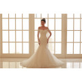 Manga comprida Custom Made Formal Bridal Gowns Designs Lace Mermaid Vestido De Casamento Alibaba
