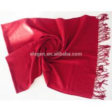 100% acrílico pura colores bufandas de moda lisa
