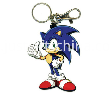 Printing Soft Pvc Cartoon Keychain
