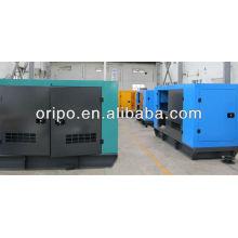 Автогенератор с дизельным двигателем малой мощности и генераторами переменного тока