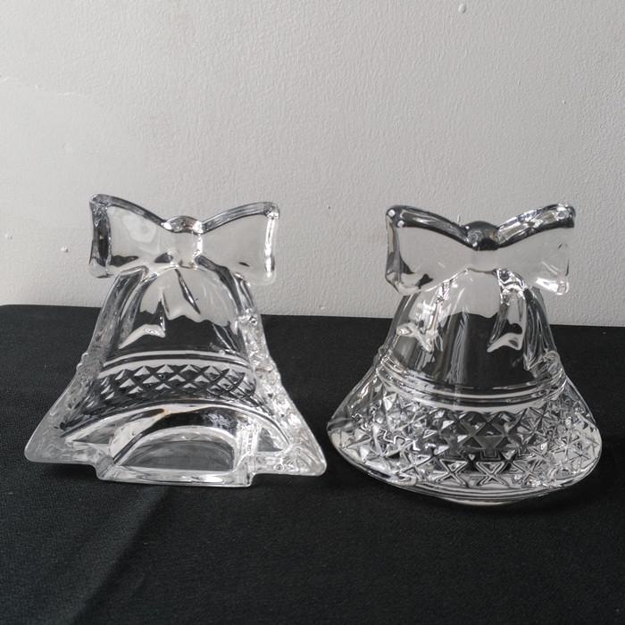 hot Sale Bell Shape Glass Tealight Candle