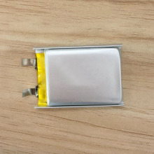 lipo battery with PCB and connector for bluetooth