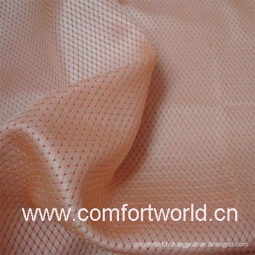 100% tissu de maille de polyester