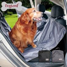 Gros portable imperméable à l'eau chien couverture de couverture de siège de voiture hamac