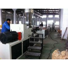 Linha de produção de perfil de porta de janela de plástico UPVC