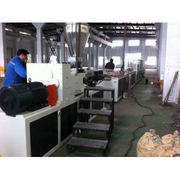Chaîne de production de profilés de portes en plastique UPVC