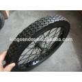 semi-pneumatic wheel