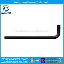 Em estoque fornecedor chinês melhor preço DIN911 aço carbono / aço inoxidável hexágono chave