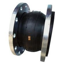 DN200 Single Sphere Rubber Expansion Joint, Flange Coating