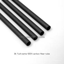 Chine Fabricant tube 16x14x1000mm Usine En Fiber De Carbone Tuyau