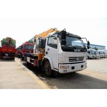 Dongfeng wreker truck tow truck rollback wrecker bed