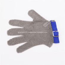 5 Digit Wrist Length Metal Mesh Gloves
