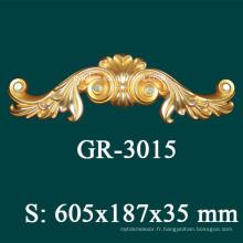 Accessoire de placage de luxe en polyuréthane 2015