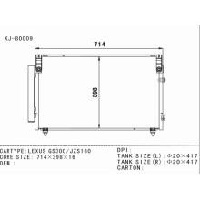 Condensador de Aire Acondicionado para Lexus GS300 / Jzs160