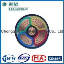 Хорошее качество ПВХ / XLPE Материал iec стандарт lv xlpe подземный кабель питания